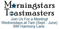 Morningstars Toastmaster Club