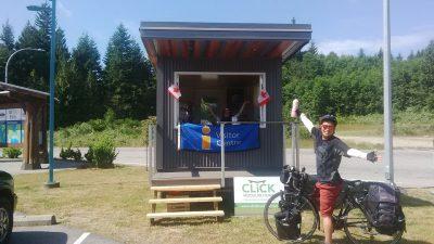 Information Kiosk at Visitor Information Park