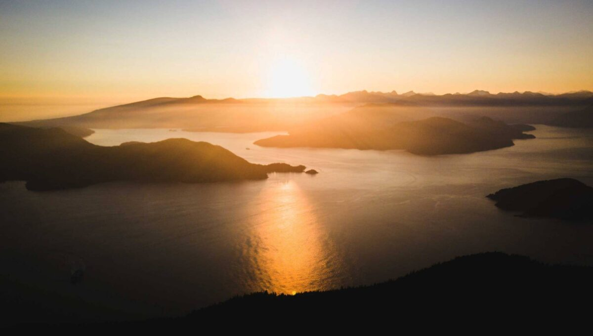 Howe Sound from West Vancouver