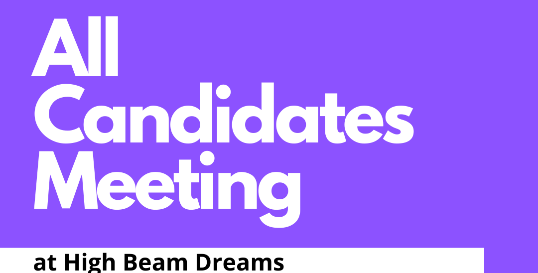 Event: All Candidates Meeting, Sept 1, 2021